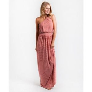 Rip Curl Willow Red Maxi Dress - Size XL